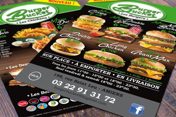 flyer-a5-burger-bucket