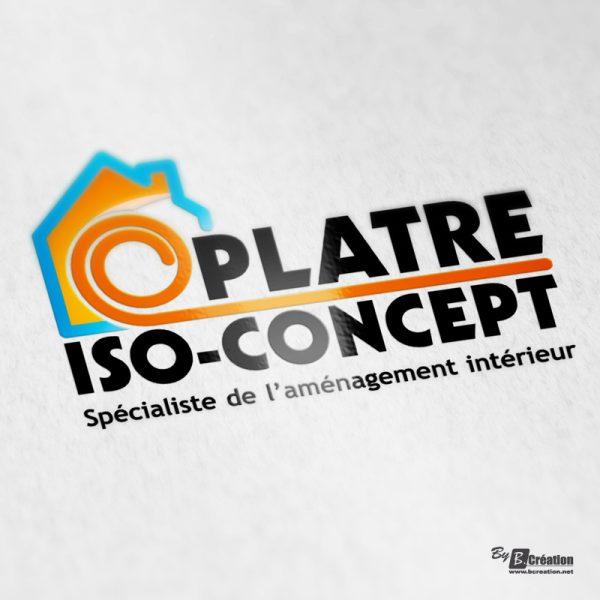Logo Platre Iso-Concept Amiens