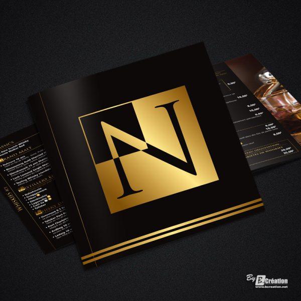 Brochure carte des boissons Le Nelson Amiens
