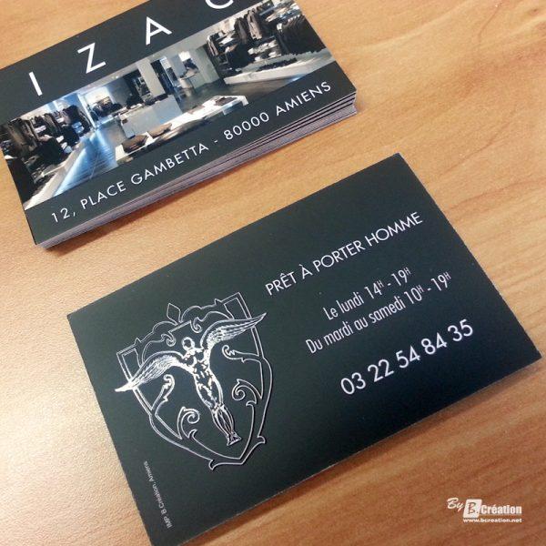 Carte commerciale IZAC Amiens
