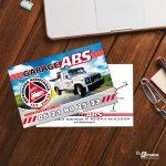 Carte publicitaire Garage ABS Talmas