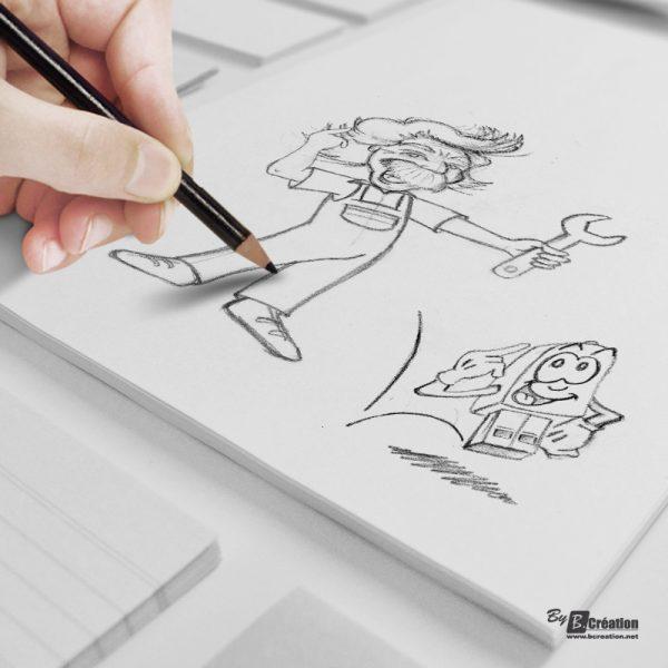Illustration recherches logos