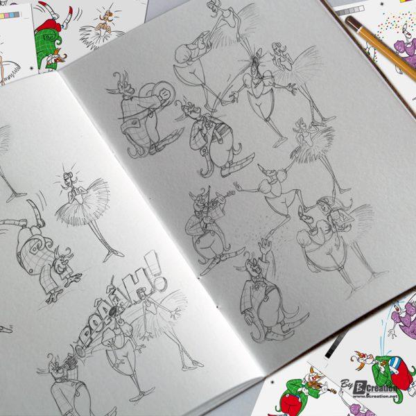 Illustration Cirque éducatif 2008