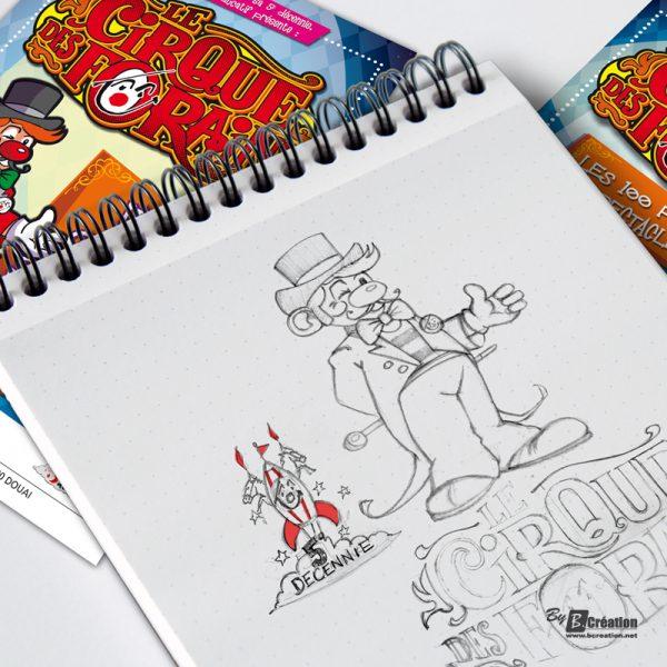 Illustration Cirque éducatif 2015