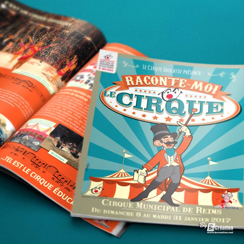Brochure programme du Cirque éducatif de Reims 2017