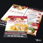 Flyers Food Pasta Amiens