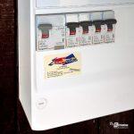 Sticker publicitaire ELEC-SERVICE Caudry