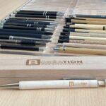 Parure de stylo en bois